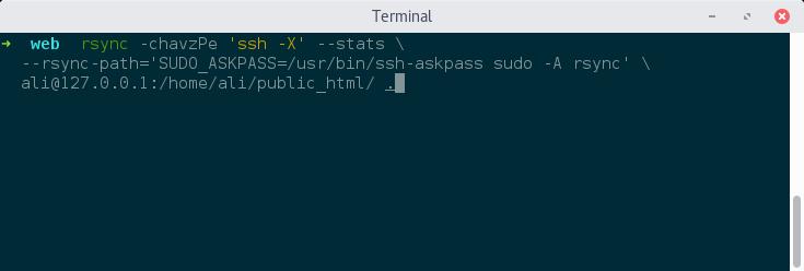ssh-pass